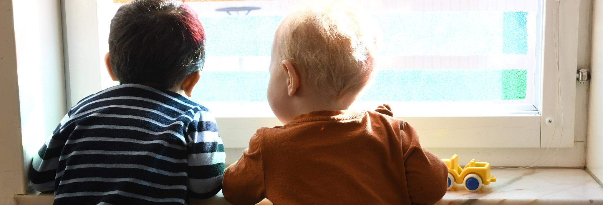 Barn på förskola i Eskilstuna